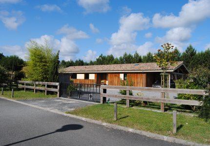 Maison bois Saumos
