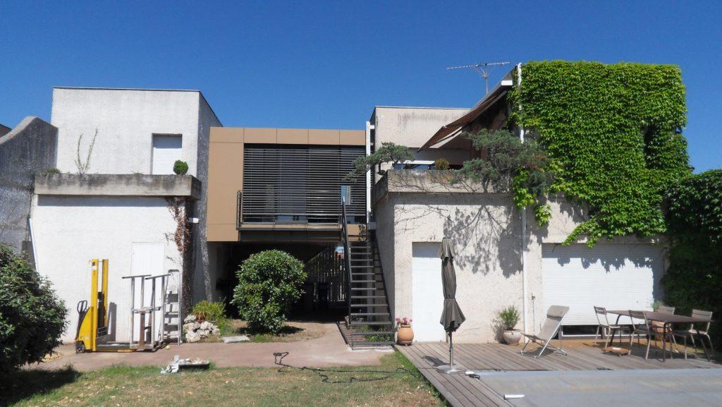 Rénovation et extension d'une maison à Toulouse