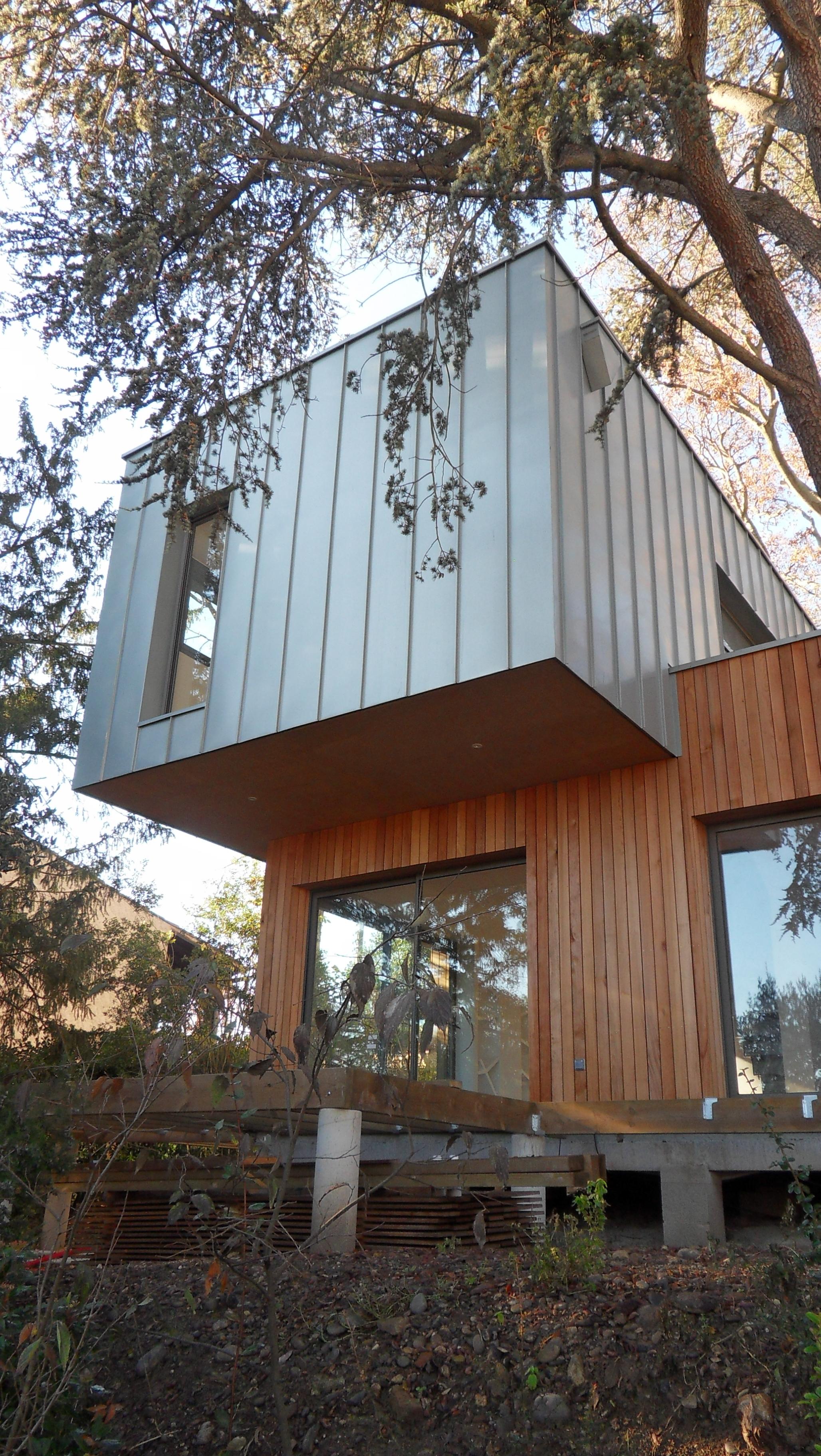 maison bois dans les arbres blagnac 2013 fabrice ginocchio. Black Bedroom Furniture Sets. Home Design Ideas
